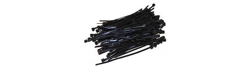 Kabelbinder schwarz 100 Stück