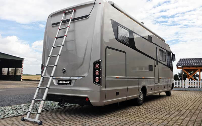 leiter f rs wohnmobil reisemobil pro. Black Bedroom Furniture Sets. Home Design Ideas