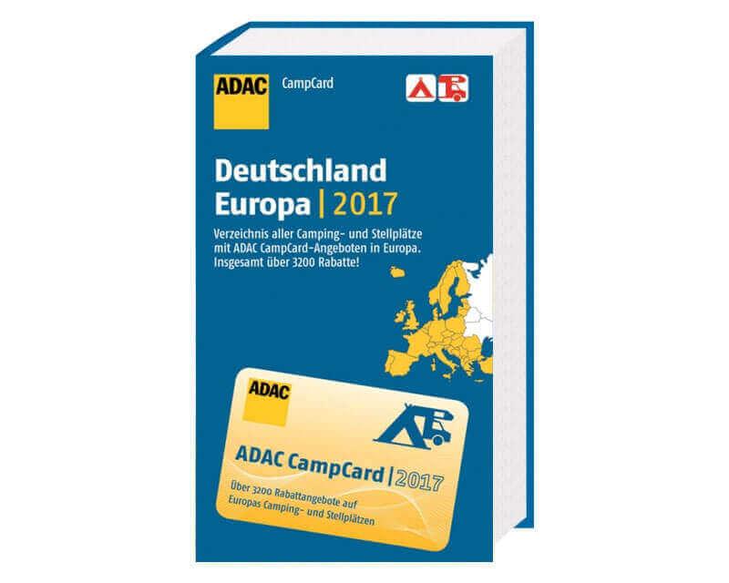 ADAC CampCard Deutschland + Europa 2017