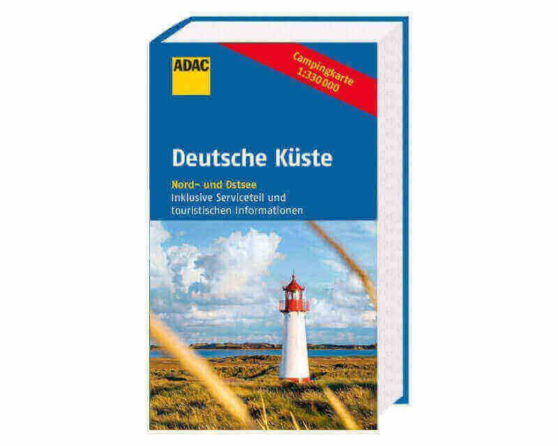ADAC Campingkarte Deutsche Küste Nord- und Ostsee