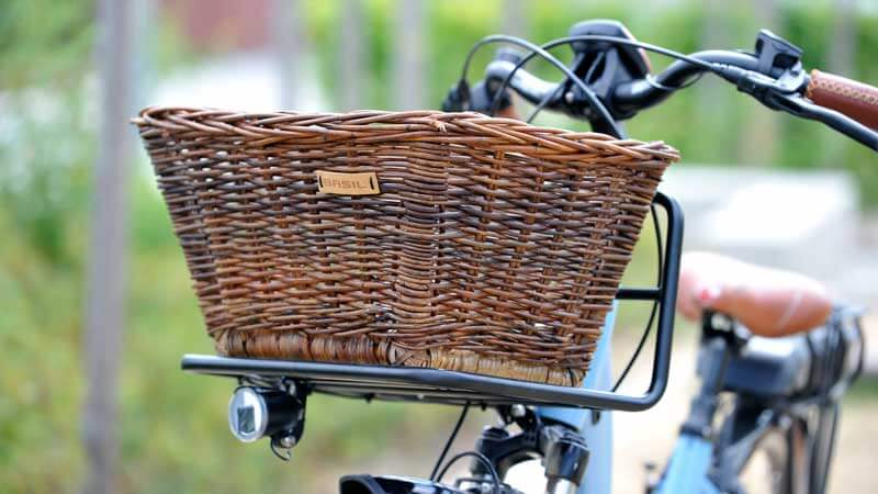 Basil Fahrradkorb Gepäckträger