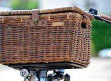 Fahrradkorb Denton L braun
