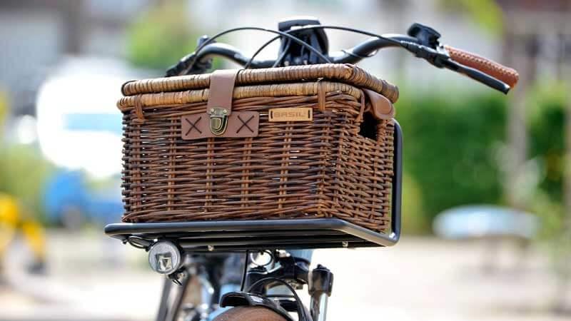 Fahrradkorb Basil Denton M braun