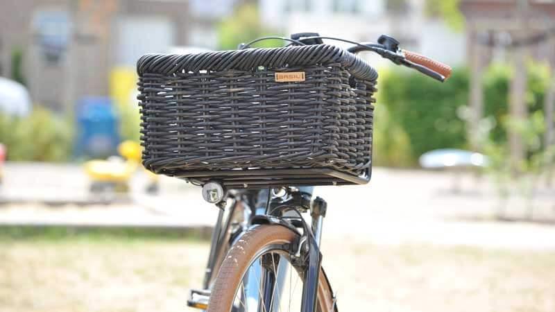 Fahrradkorb Basil Noir L schwarz