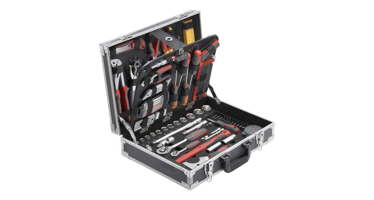 Meister Werkzeugkoffer mit 129 Teilen