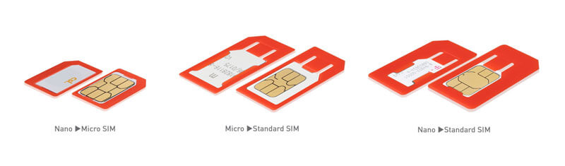 SIM-Karten-Adapter-Set