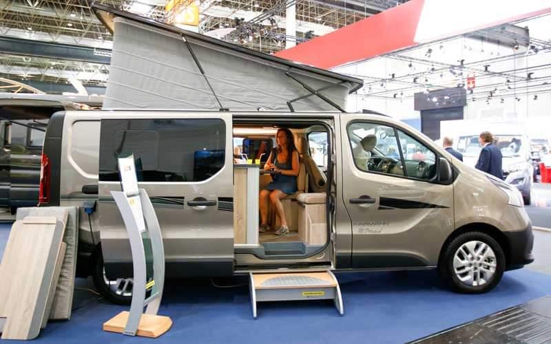 die trends der wohnmobil messe 2017 reisemobil pro. Black Bedroom Furniture Sets. Home Design Ideas