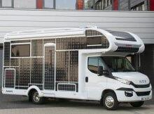 Solar-Wohnmobil von Dethleffs